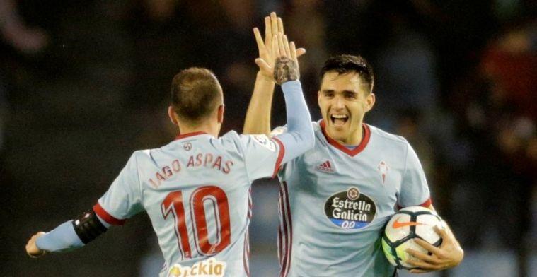 Iago Aspas y Maxi Gómez monopolizan los goles del Celta
