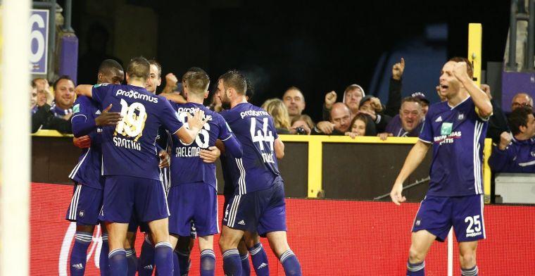 Duo krijgt volle laag bij Anderlecht: Wat zij lieten zien was om te huilen