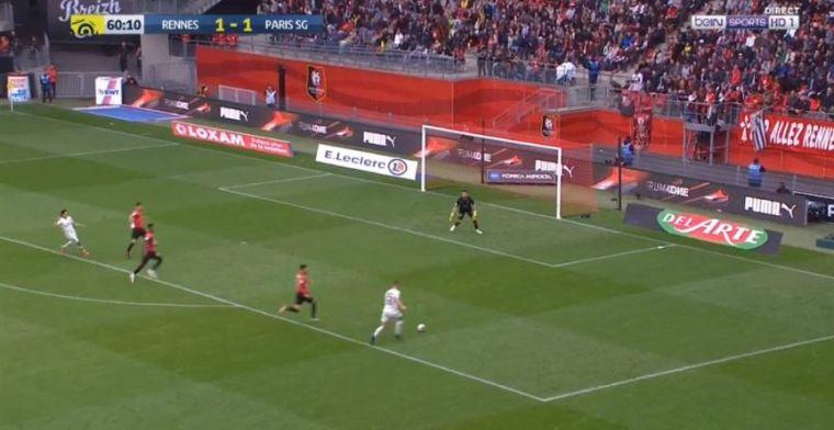 GOAL: Meunier maakt belangrijke goal voor PSG