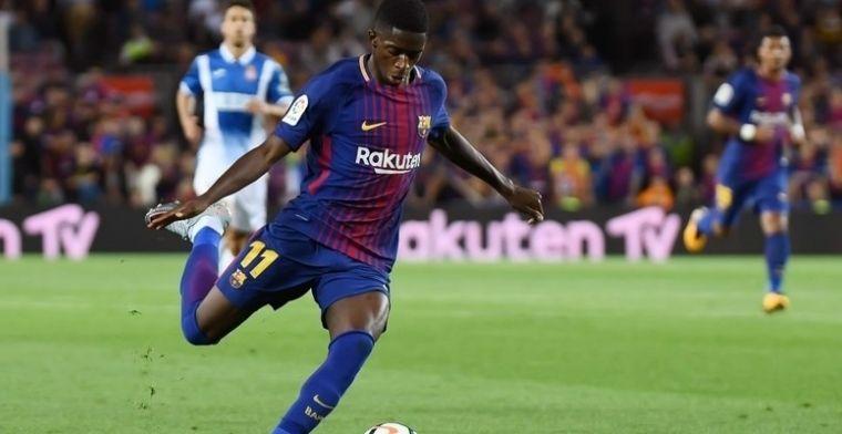 Dembélé pulveriza sus propios registros con el F.C. Barcelona