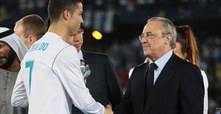 Florentino: Cristiano es digno sucesor de Di Stéfano, muchas gracias Cristiano
