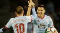 Imagen: Iago Aspas y Maxi Gómez monopolizan los goles del Celta