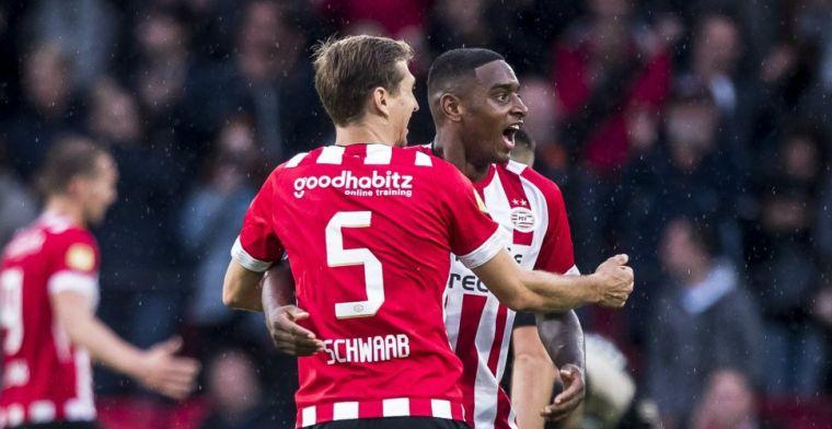 PSV-uitblinker: 'Werden door Ajax dingen geroepen, alleen maar extra leuk'