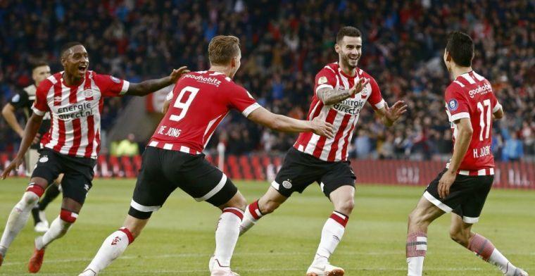 Van Hanegem ziet kansen PSV: 'Vermogen geïnvesteerd, dat kan stress opleveren'