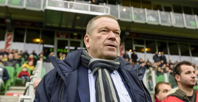 Nijland: 'Ik ga alleen bij verlies naar het supportershome. Kom er nu wat te vaak'