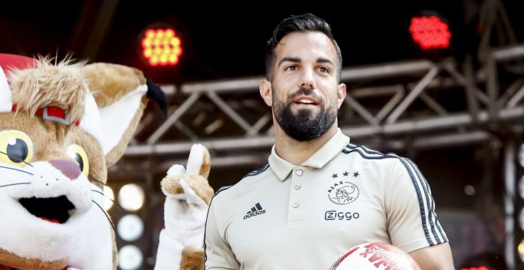 Derde officiële wedstrijd in Ajax 1: Voor mij is het weer lekker