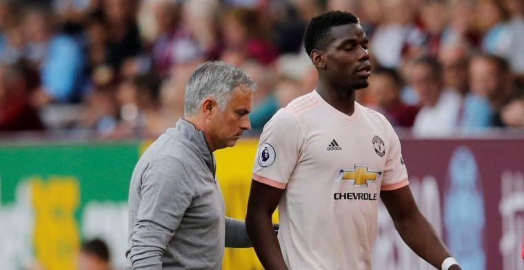'Bom gebarsten tussen Mourinho en Pogba: aanvoerdersband Fransman afgepakt'
