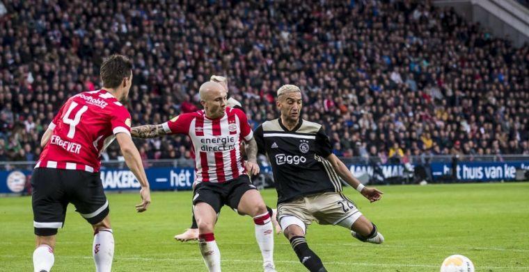Ziyech stelt wéér teleur in Eredivisie-topper: 'Ver onder zijn gemiddelde'