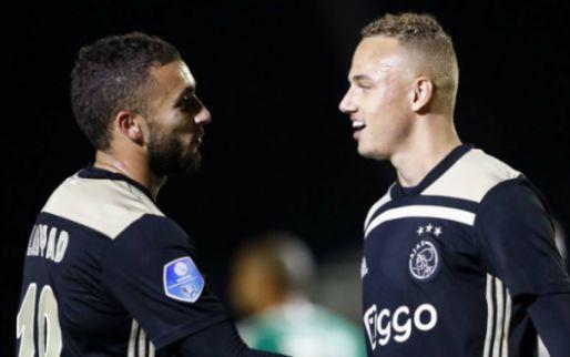 Afbeelding: Te Werve-captain scoort shirt van Ajacied: 'Gelijk na vijf minuten gevraagd'