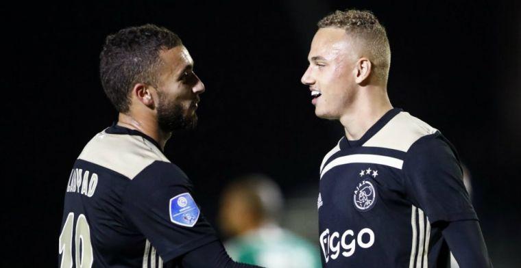 Te Werve-captain scoort shirt van Ajacied: 'Gelijk na vijf minuten gevraagd'