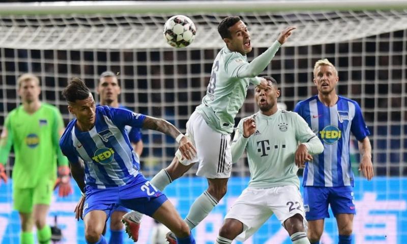 Afbeelding: Geluk voor Witsel en co, Bayern München verliest in Berlijn
