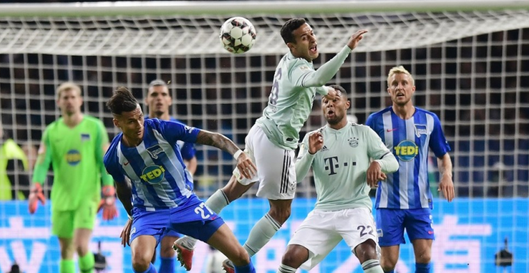 Hertha laat Ajax zien hoe het moet en wint topper van Bayern München