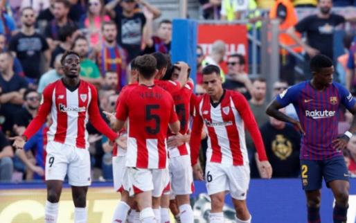Afbeelding: Barcelona weet het even niet meer en verspeelt voor derde keer op rij punten