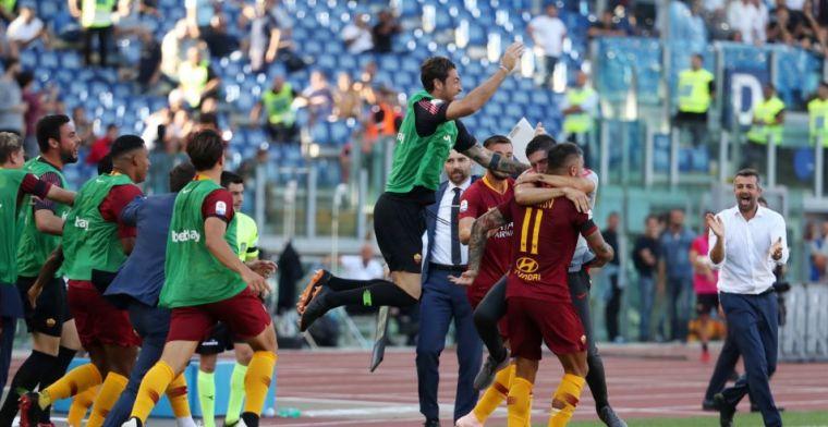 Roma rekent af met crisis: Lazio met ruime cijfers verslagen in stadsderby