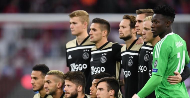 Ajax overklast Bayern München, maar pakt slechts een punt in Duitsland