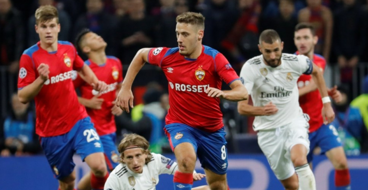 Groep G: Verrassende nederlaag Real Madrid, Kluivert scoort voor winnend AS Roma