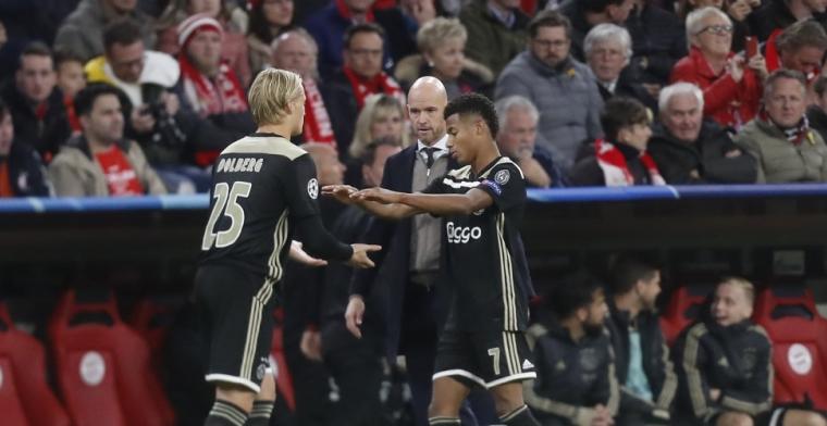 Opvallend: 'Zes Ajax-spelers tot in de late uurtjes gespot in Duitse disco'