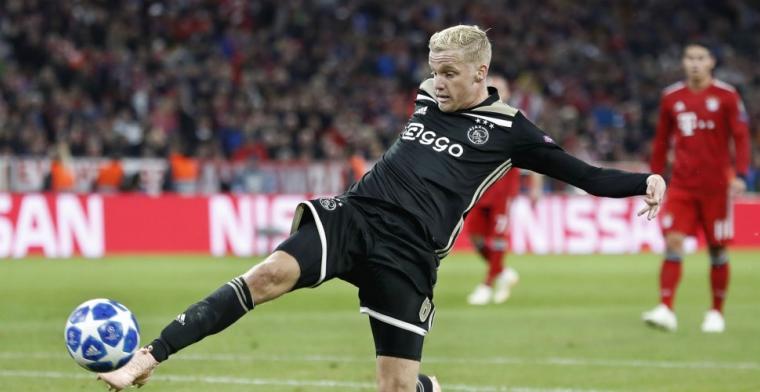 Vertrek Van de Beek bij Ajax bespreekbaar: 'Afspraken met Overmars'