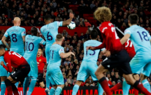 Afbeelding: Manchester United staat op uit de dood tegen Newcastle en wint in laatste minuut