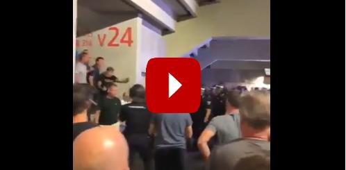 Club Brugge-fans kwaad na ruzie met politie: 'Shame on you'