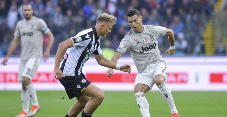 Ronaldo schiet frustraties van zich af en leidt Juventus naar zege nummer acht