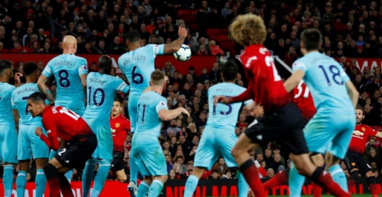 Manchester United staat op uit de dood tegen Newcastle en wint in laatste minuut
