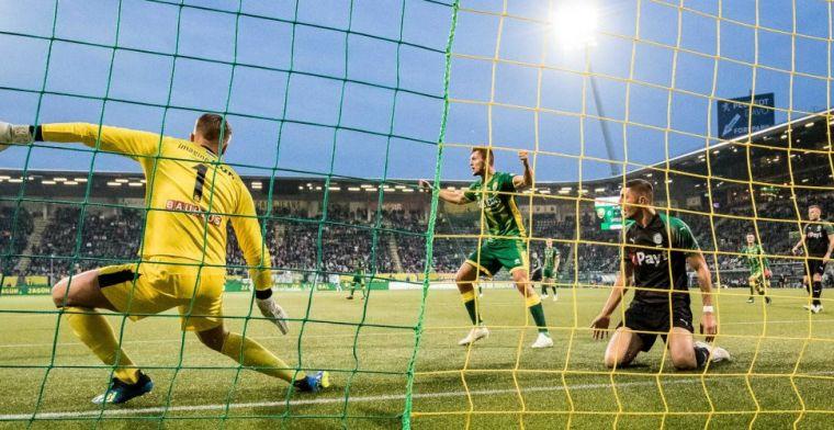 ADO boekt kleine overwinning en duwt FC Groningen dieper in de problemen