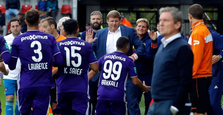 Anderlecht bezweert crisis met overwinning op het veld van Zulte Waregem