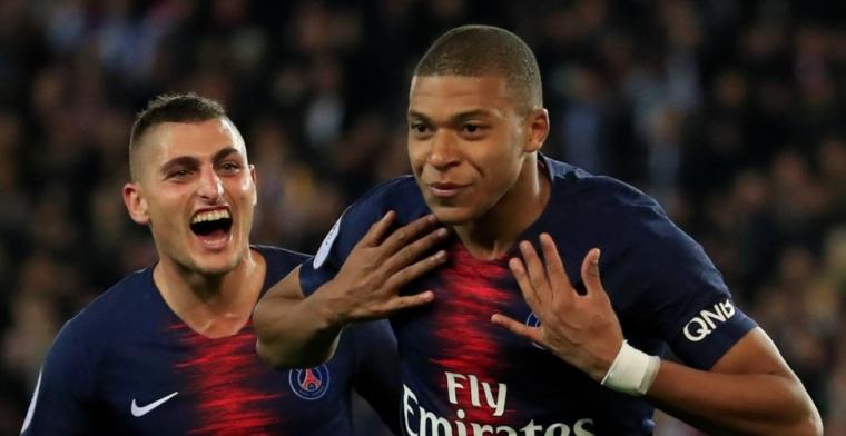 Paris Saint-Germain vernedert Memphis en Lyon: vier (!) goals van Mbappé