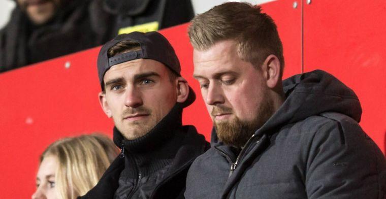 'In mijn laatste Ajax-jaar had ik niet de behoefte om naar wedstrijden te gaan'
