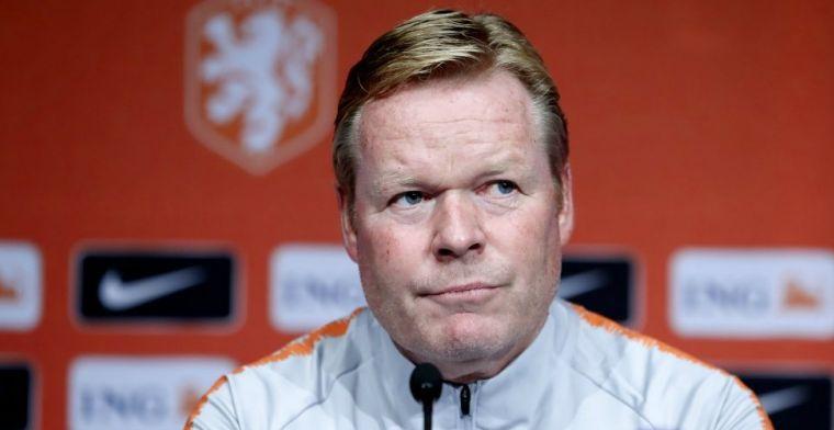 Koeman toeschouwer bij Ajax-duel: 'Had ik niet verwacht, heel teleurstellend'