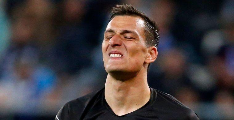 Domper voor KAA Gent-doelman Kalinic bij Kroatische nationale ploeg