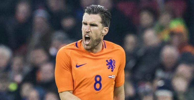 'Ik snap ook wel dat ik de laatste jaren minder heb gespeeld in Nederlands elftal'