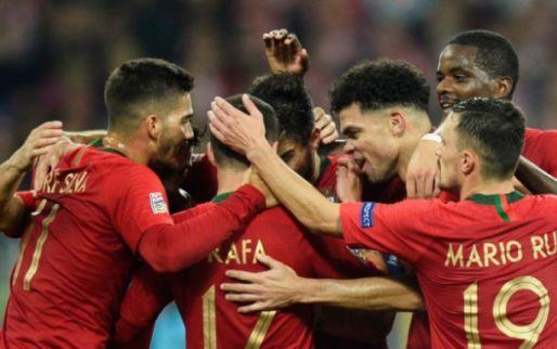 Afbeelding: Ronaldo-loos Portugal komt goal Serie A-sensatie te boven en verslaat Polen