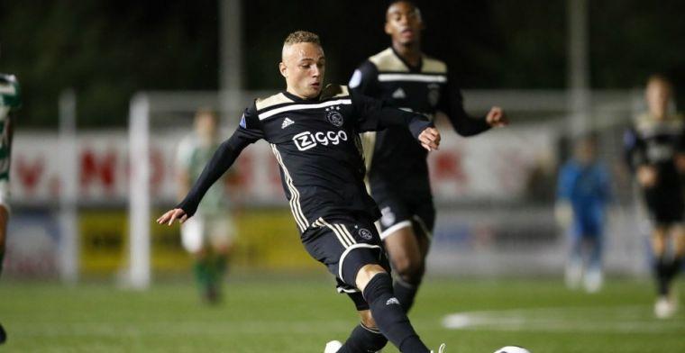 'Young boy' van Ajax: 'Zorgen dat ze bij het eerste niet meer om mij heen kunnen'