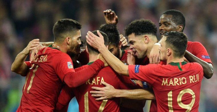 Ronaldo-loos Portugal komt goal Serie A-sensatie te boven en verslaat Polen