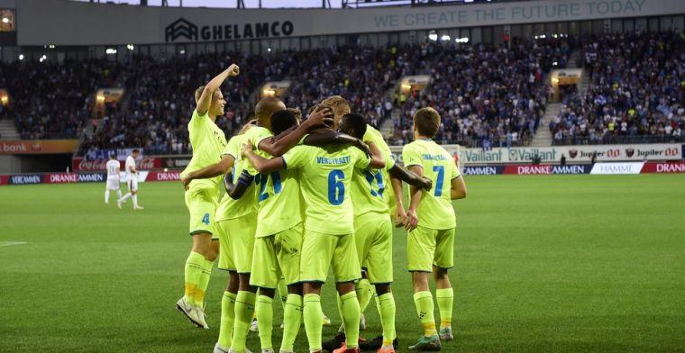 Nieuwe coach ziet Gent op eerste werkdag meteen winnen van Lokeren
