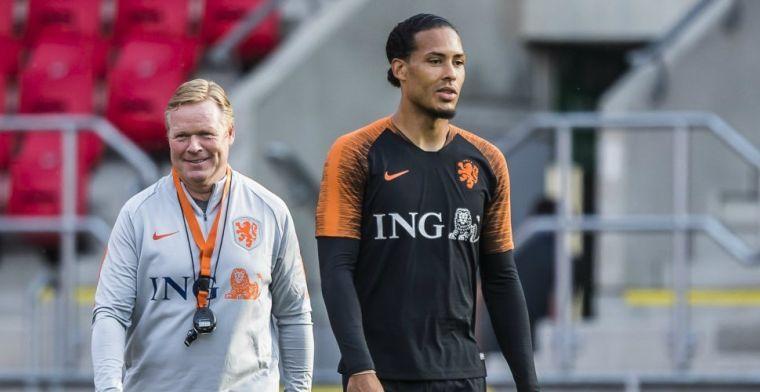 Aanvoerder Van Dijk ziet verandering bij Oranje: 'Dat voelen we allemaal'
