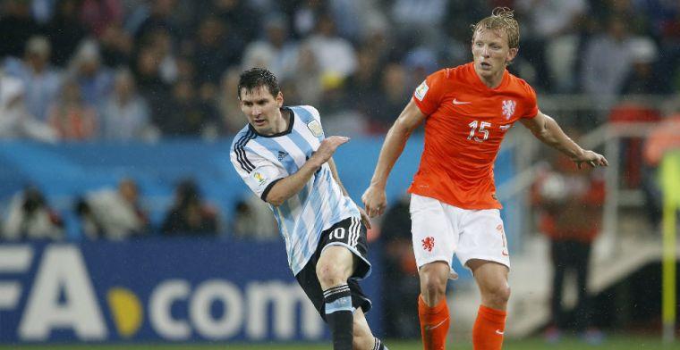 Kuyt over 'mooiste' doelpunt in Oranje: 'Heb ik ploeggenoten ook verteld'