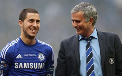 Afbeelding: Hazard verrast met uitspraken over Mourinho: 'Het is deel van zijn personage'