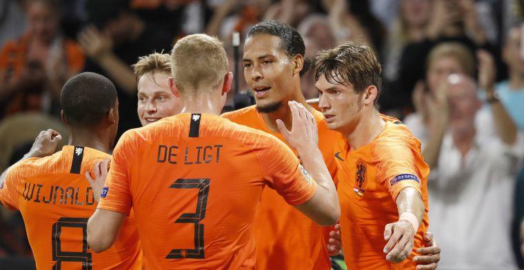 Invaller Danjuma boekt met Nederland grootste zege ooit op Duitsland