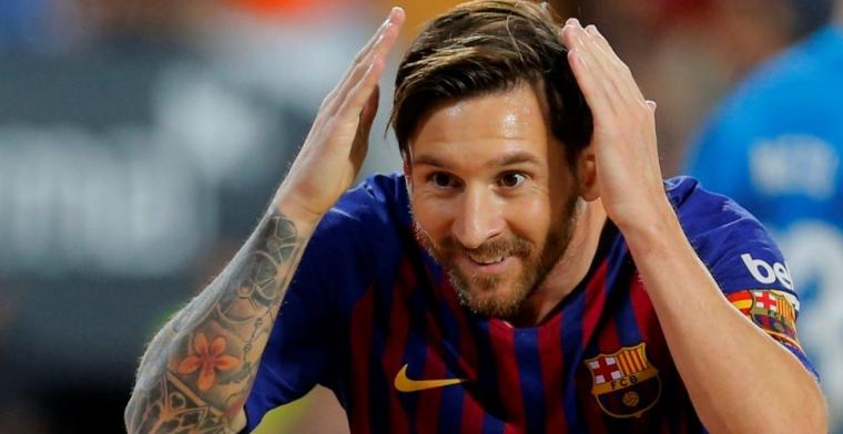 'We konden Messi drie keer zijn Barcelona-salaris bieden, maar hij wilde niet'