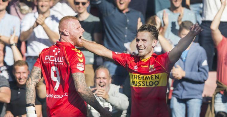 Curieuze goal bij Go Ahead-Roda JC: 'Kunt niet buitenspel staan na een doeltrap'