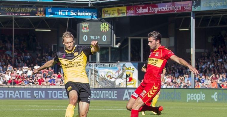 Go Ahead deelt gevoelige tik uit: drie late treffers vellen degradant Roda JC