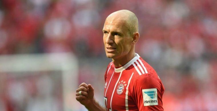Robben rent 4 mijl met zoontje: 'Ik was hem op het laatst even kwijt haha'