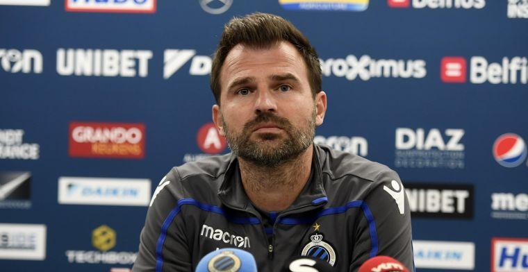 Club Brugge steunt Leko, en dat is nu ook te merken in de fanshop
