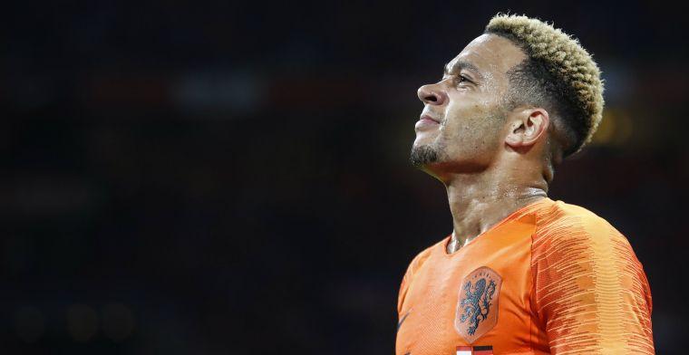'Nieuwe rol' voor uitblinker Memphis bij Nederlands elftal: 'I guess so'