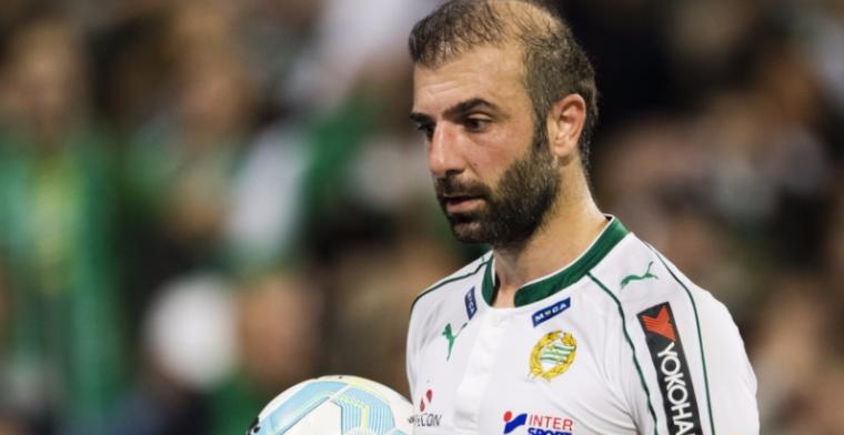Bakircioglu vangt biertje en gaat viral: 'Mijn ploeggenoten hadden niets door'