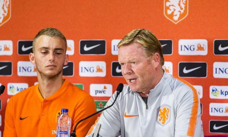 Afbeelding: De vermoedelijke elf van Oranje: Koeman wijzigt, Danjuma versus België