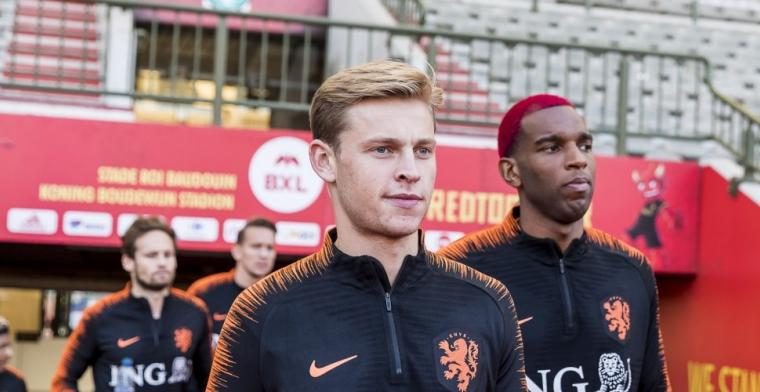 Kritiek op Frenkie de Jong: 'Waarom zit hij niet al bij een buitenlandse club?'
